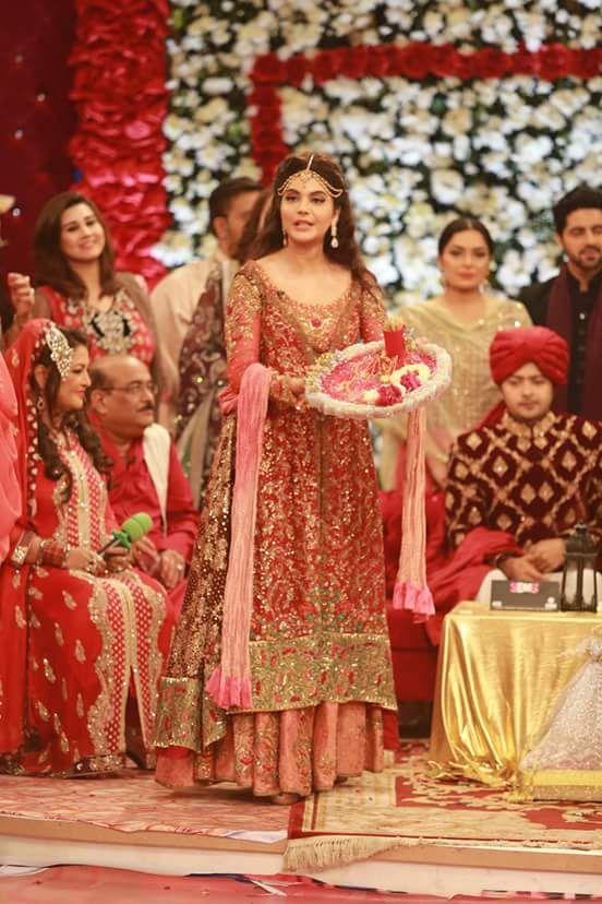 Ahmed Hassan and Nousheen Ibrahim's Grand Wedding in Good Morning Pakistan (8) | Style.Pk