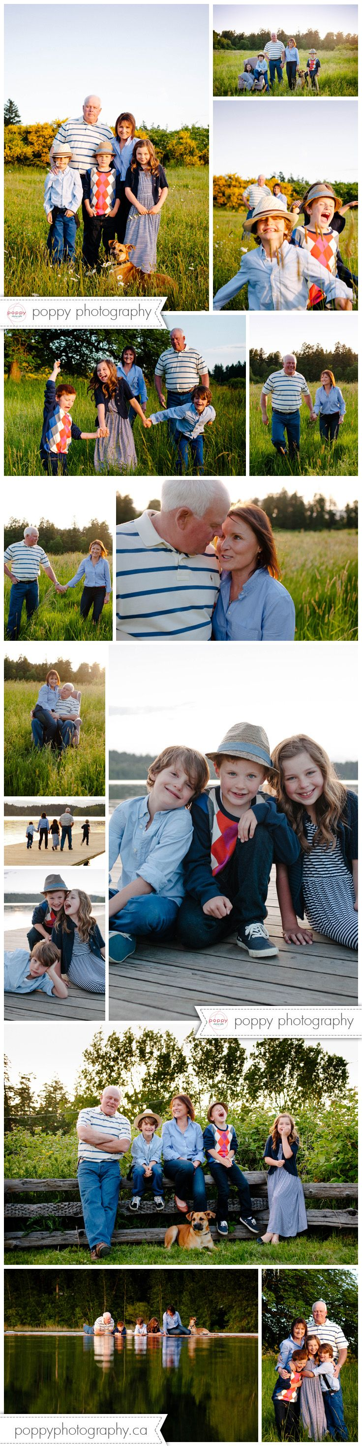 grandparents and their grandkids lifestyle family photography