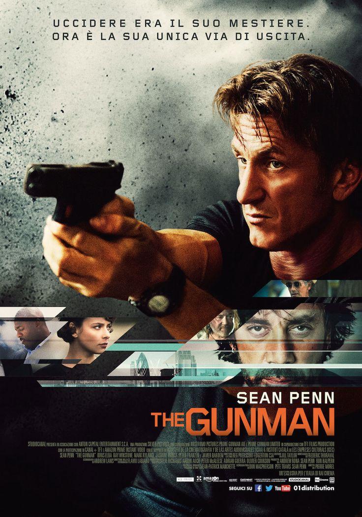 Un film di Pierre Morel. Con Sean Penn, Idris Elba, Javier Bardem, Ray Winstone, Mark Rylance. #locandina #thegunman #cinema