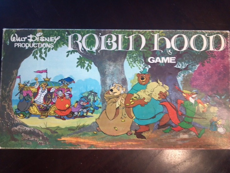 A Board Game A Day: Robin Hood Game  Oh god, how I want this!!!