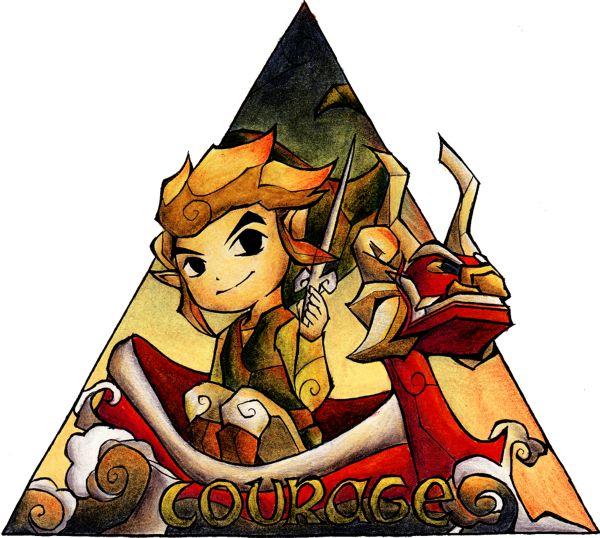 The Legend of Zelda | Courage