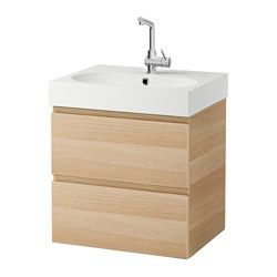 Web Photo Gallery GODMORGON BR VIKEN Sink cabinet with drawers white high gloss white