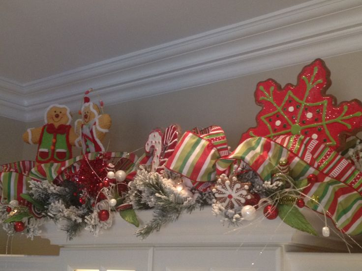 Gingerbread Christmas decor  Exquisite professional Christmas decor by Nicholas Christmas