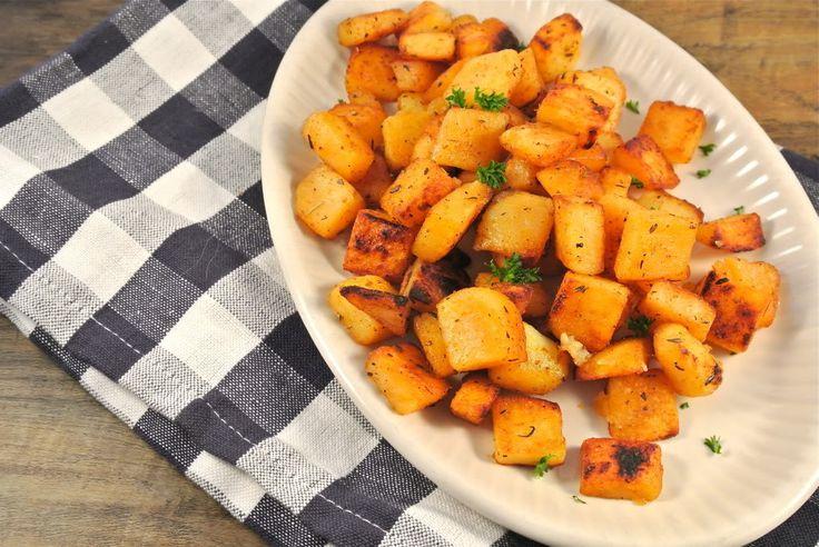 Kruidige aardappels met zelfgemaakte Cajun kruiden