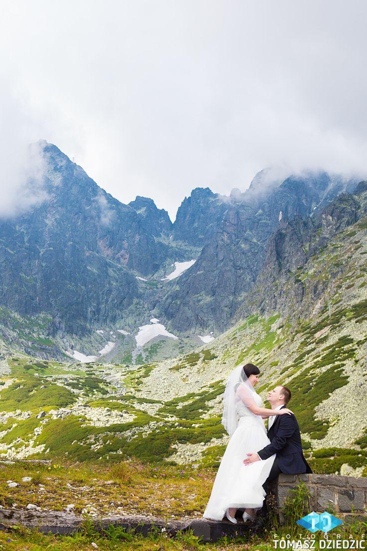 Plener Ślubny w Górach. Fotografia Ślubna Zakopane
