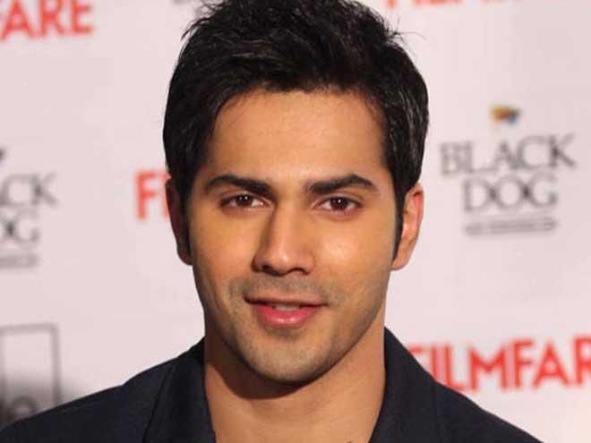 Indian actor Varun Dhawan...