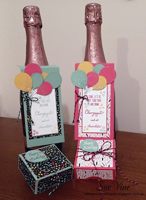 Celebrate with Champagne & Chocolates!