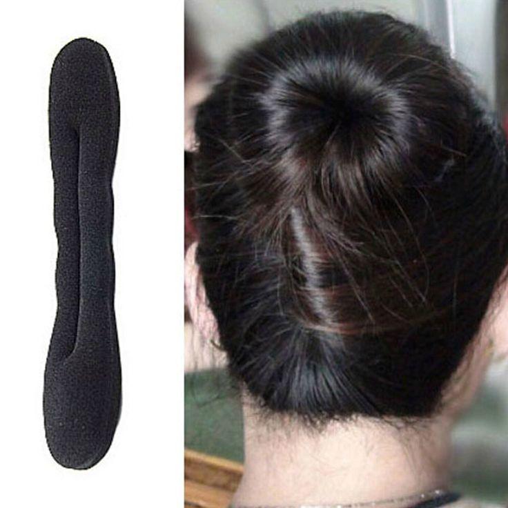 0.77$  Buy here - http://aliuow.shopchina.info/go.php?t=32800064778 - hair bands Magic Foam Sponge Hair Plate Donut Bun Maker Former Twist Tool 3PCS 0.77$ #aliexpressideas
