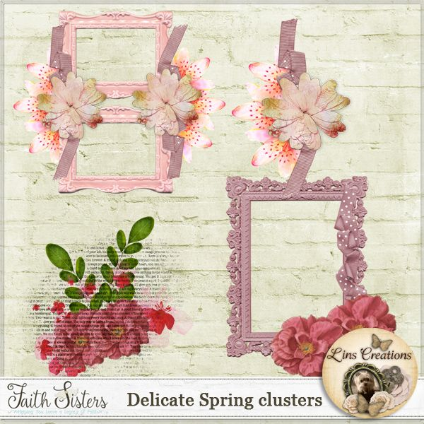 Delicate Spring clusters
