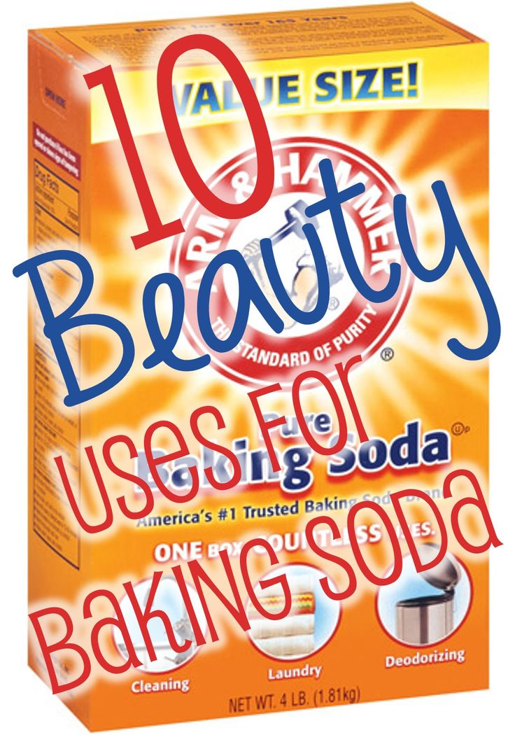 10+Beauty+Uses+for+Baking+Soda
