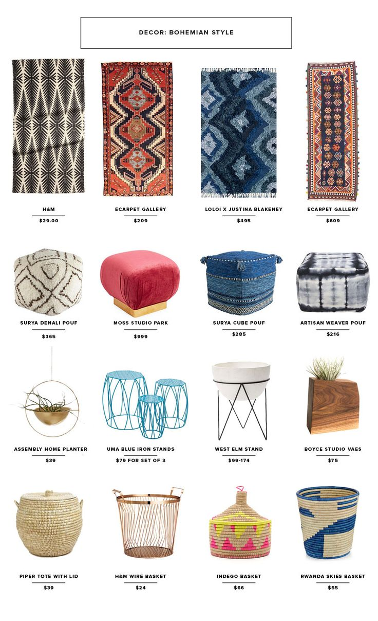 Bring the Bohemian Trend Into Your Home & Closet