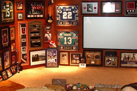 25 Must-Haves in a College Football Man Cave