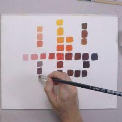 HU11 : Découverte des couleurs à l'huile : les rouges