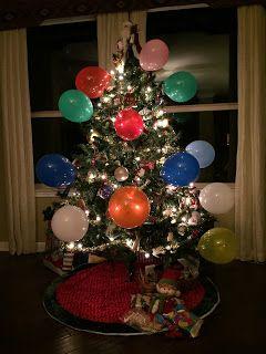 Cutesy ballooned the tree