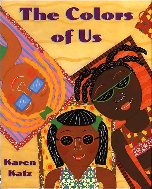 Resource: The Colors of Us - a fantastic book I read to Bright Beginnings before a multicultural lesson :)
