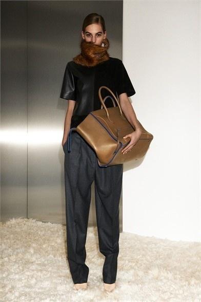 Céline bag - Celine bag 2013 - Celine lookbook A/I 2012-2013   Press Italy