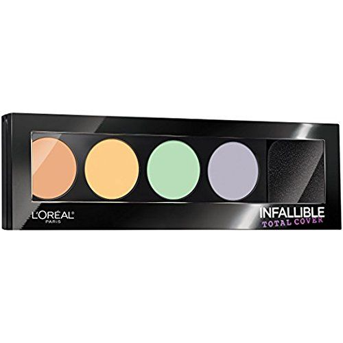 L'Oreal Infallible Total Cover Color Correcting Kit 225 (Pack of 2) * This is an Amazon Affiliate link. Click image to review more details.