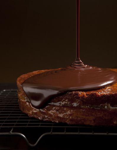 Drool-Worthy: Devlo Media's Sacher Torte / #foodporn #foodie #chocolate Food Photography. Shot by Devlo Media