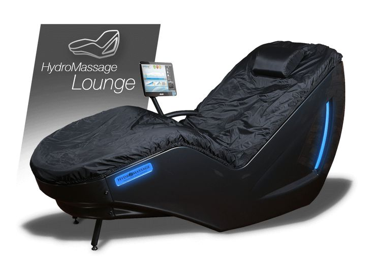 The HydroMassage Lounge is the new and powerful upright seated, water massage bed from HydroMassage, smaller, better, stronger - HydroMassage Lounge