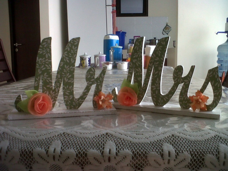 mr and mrs - wood letter