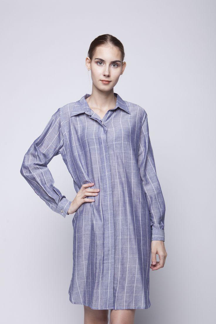 Bianca Shirt Dress   Rp 206.250