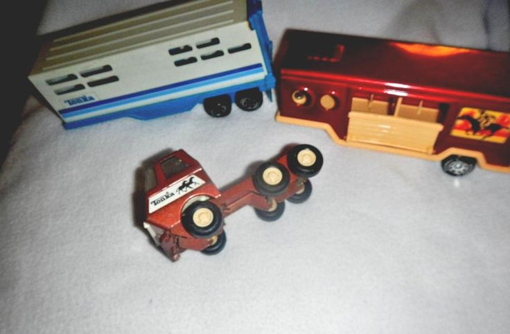 Tonka Tractor #vintage '70's And  Tonka Cattle Trailer Buddy L Horse Trailer  from $12.0