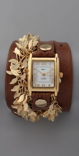(:: Cuffs Bracelets, Watches Bracelets, Leather Watches, Wrist Watches, Gold Watches, The Mer, Leaves, Bracelets Watches, Wraps Watches