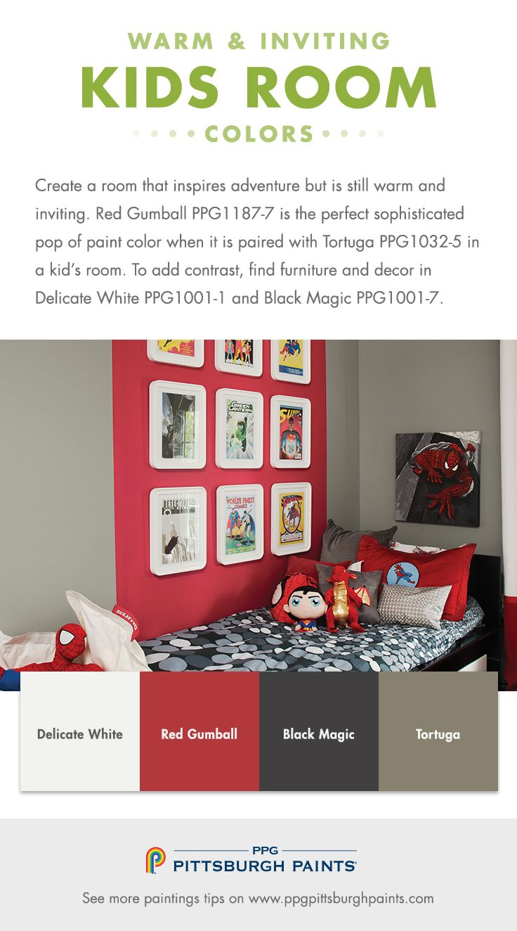 24 best Paint Colors for Kids Rooms images on Pinterest | Paint ...