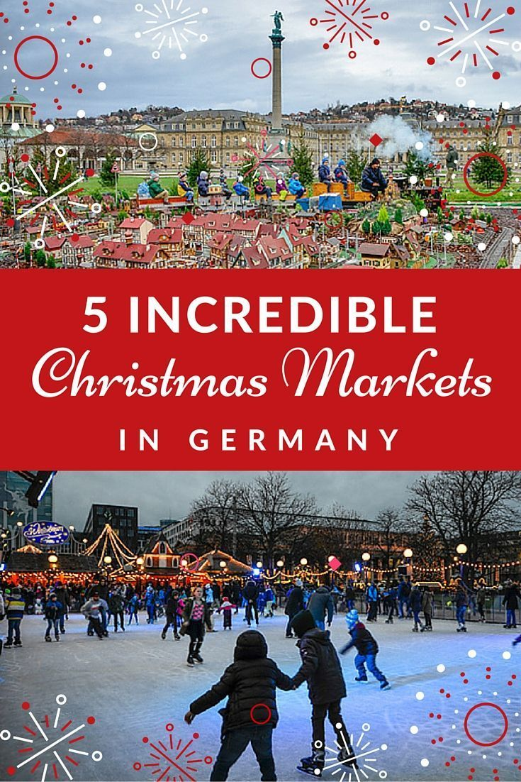 Top 5 German Christmas Markets near Stuttgart, Germany