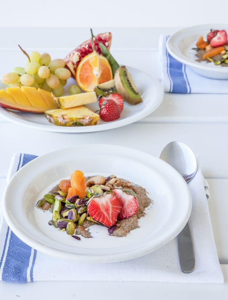 Frukostdags! | http://halsoresor.se #hälsa #hälsoresor #frukost ( Foto: Copyright © Emelie Hallbäck, All Rights Reserved.)