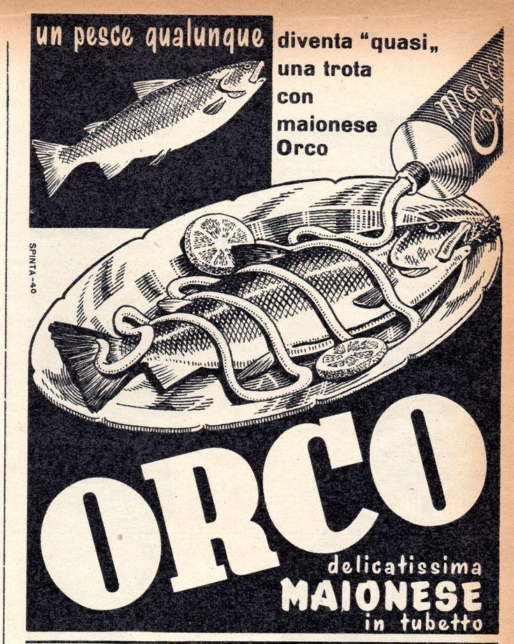 ORCO - Maionese - cm 11x14 (Grazia 1953)