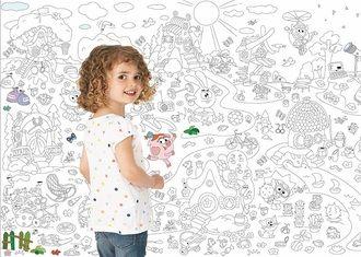 Плакат раскраска Смешарики для детей    #coloring #colouring #раскраски #poster