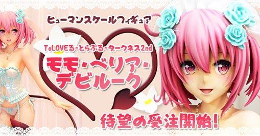 Mechanical Japan: To Love-Ru Darkness - Momo Belia Deviluke 1/1 (Design co-co)