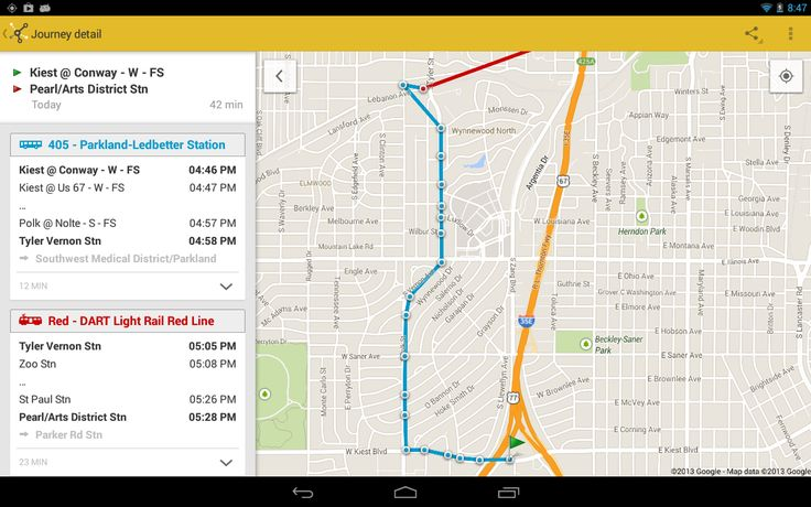 ezRide Dallas (DART Transit) - screenshot