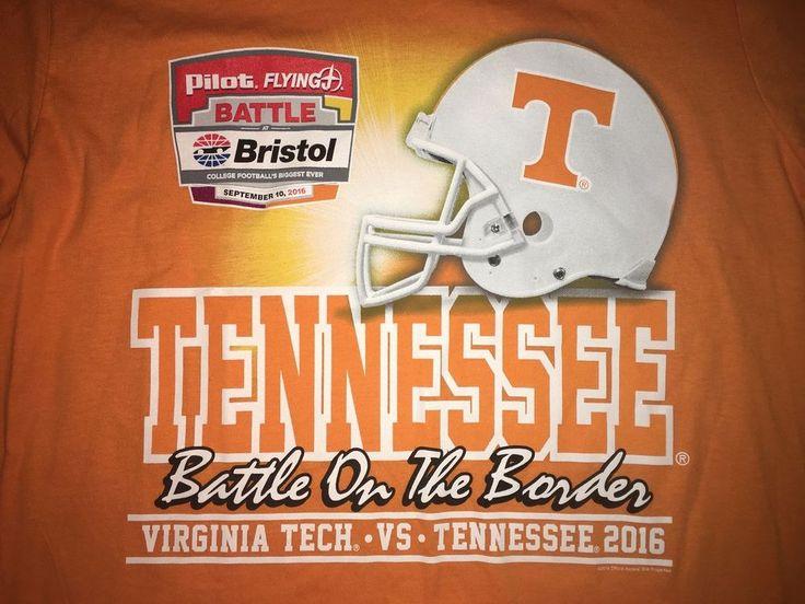 Tennessee Volunteers Battle of Bristol Nike 2016 T Shirt Mens large Vols NCAA #Nike #GraphicTee