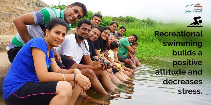 #Experience the recreational #swimming near #ChukkiMane, builds a positive attitude and stress relief