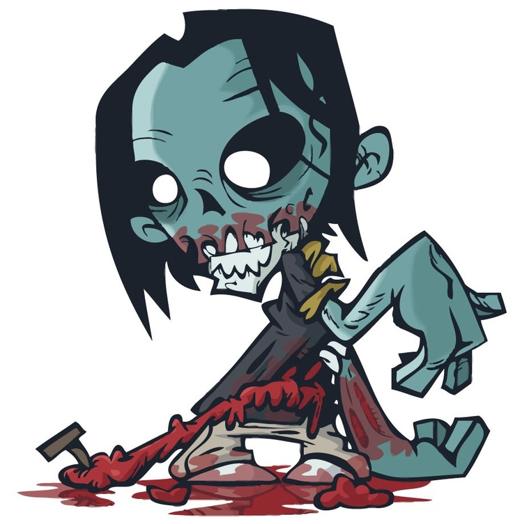 Zombie Wall Sticker - Totally Movable, $1.00 (http://www.wholesaleprinters.com.au/zombie-wall-sticker-totally-movable)