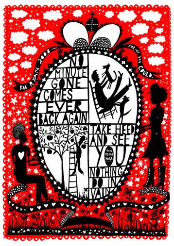 love Rob Ryan - poetry and art
