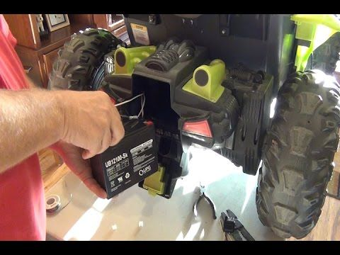 Power Wheels Dune Racer 24 Volt Conversion Step By Step