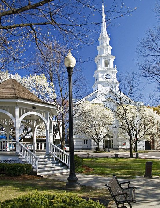 Keene New Hampshire - Where we spent the first 10 years of our marriage and where our girls were born. Wish I was there right now!