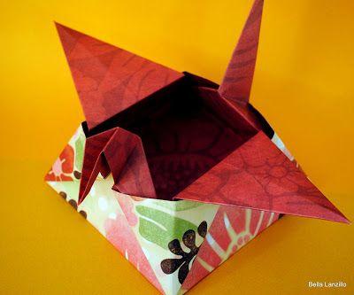 Origami na decoração: Tsuru BOX. Mais
