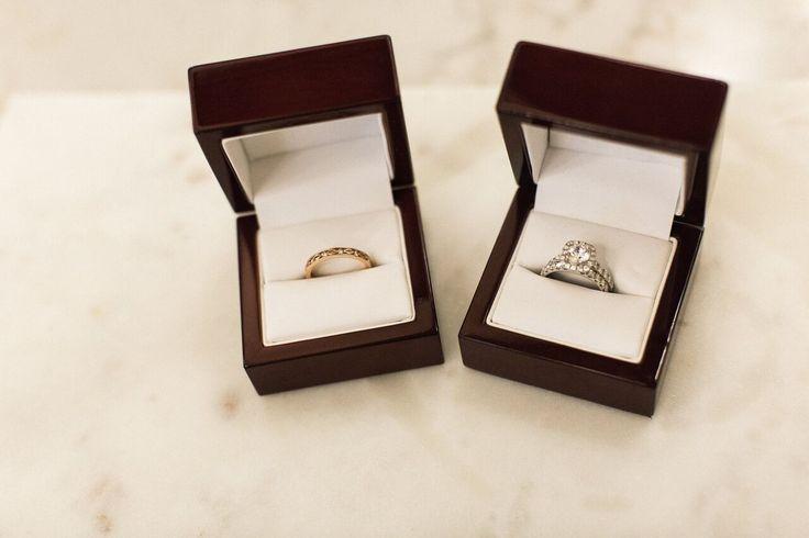 Modern Art Deco Wedding Inspiration- ring shot