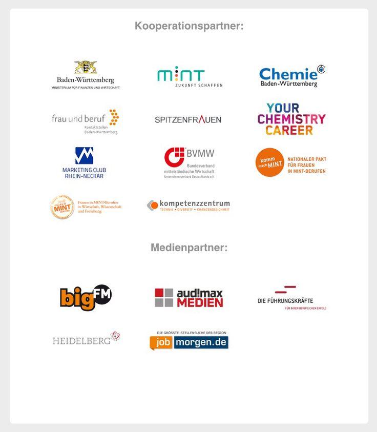 Die Kooperationspartner der Jobunication - Karrieremesse Rhein-Neckar 2016