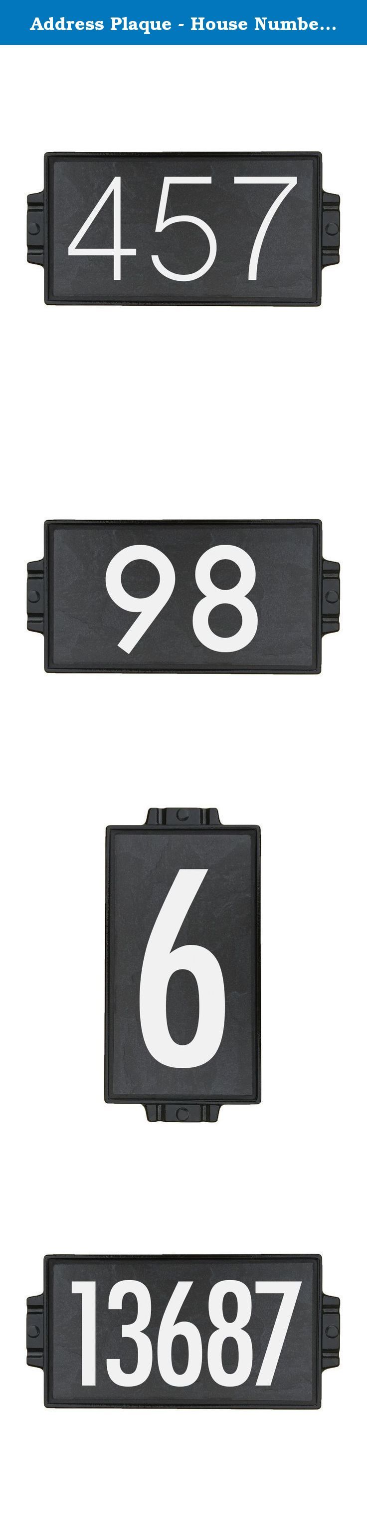 1000+ ideas about Slate House Numbers on Pinterest House numbers ... - ^
