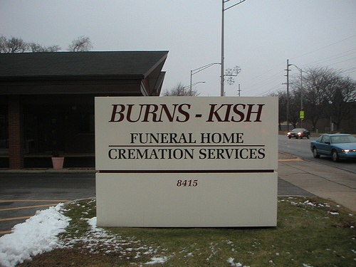 burns cremation services