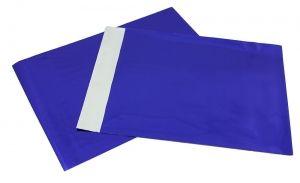Bolsa metalizado Azul para detalle 15x20cms para envolver regalo invitados #Grandetalles