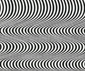 Bridget Riley's 1964 'Current'