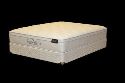 Spring Air 1804 46M Back Supporter Elegance Full Size Mattress by Spring Air. $648.00. Foam Encased Wireless Edge with Three Zones of Support to provide you with 20% more sleeping surface. Type: Euro Top.. Softness Level: 6.. Size: Full.. Collection: Elegance.. Spring Air Back Supporter Elegance Full Size Mattress. Collection: Elegance. Size: Full. Type: Euro Top. Softness Level: 6. Foam Encased Wireless Edge with Three Zones of Support to provide you with 20%...
