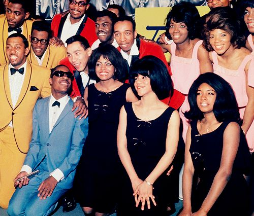 """"""" The Temptations, Stevie Wonder,The Miracles, The Supremes and Martha and the Vandellas, 1964 """""""