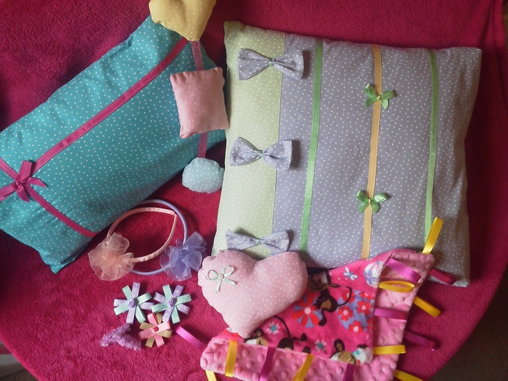 Cushions and stuff handmade by me